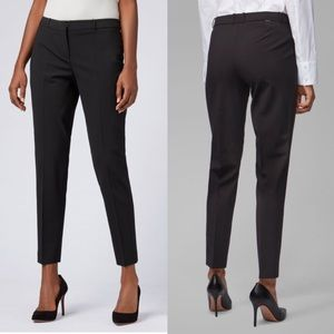 Hugo Boss Slim-Fit Cropped Pants- Size 6